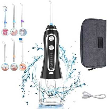 The Prime Cordless Water Flosser for Teeth By Uvistare