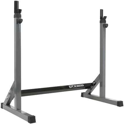 The Best Adjustable Squat Rack By DTX Fitness