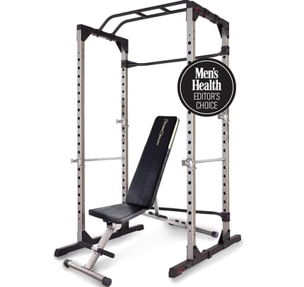 The Top Power Cage with Optional Lat Pull-down Attachment By Fitness Reality