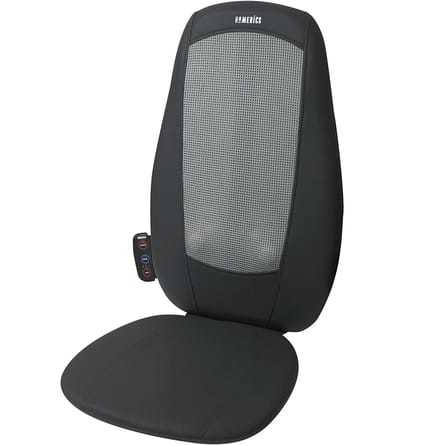 The Top Massage Chair Cover With Shiatsu And Vibration Massage By HoMedics