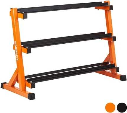 The Top Shelf Dumbbell Rack By Mirafit