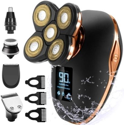 5 in 1 Head Shaver for Bald Men By OriHea